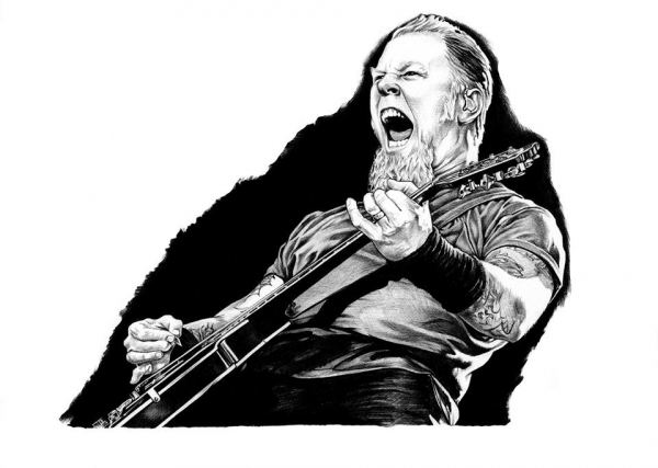 James Hetfield por ScottBongos